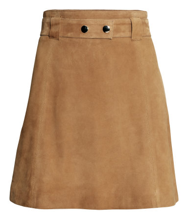 Suede Skirt by H&M, £99.99