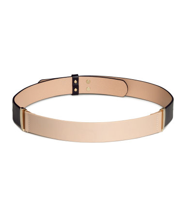 Leather Waist Belt by H&M, £24.99